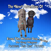 The *New* Adventures Of Esme The Wonder Dog...with Abby - Children's Activity Book